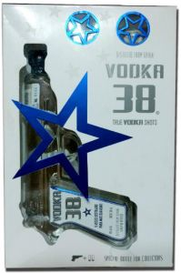 Vodka 38 Gun Giftpack