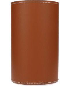 Lahore Wijnkoeler Bruin Leder